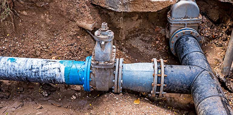 sewer line repair services