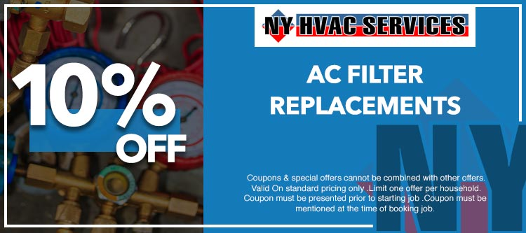 discount on filter replacement in Manhattan, NY