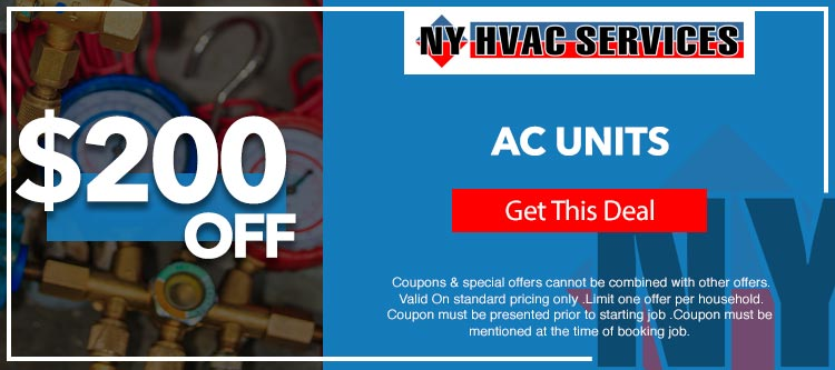discount on air conditioner units in Brooklyn, NY