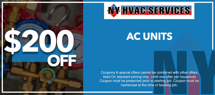 discount on air conditioning units in Manhattan, NY