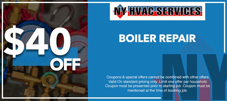 discount on  boiler repair in Manhattan, NY