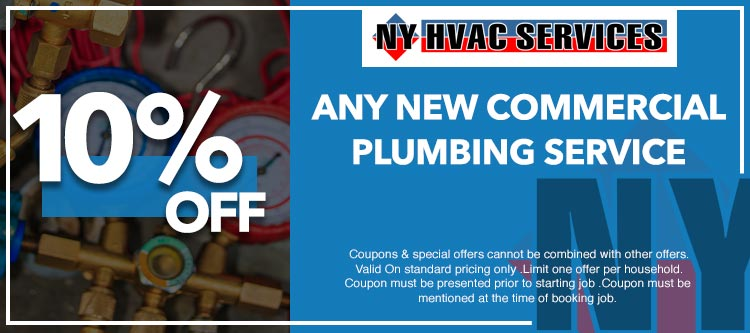 discount on any plumbing service in Manhattan, NY