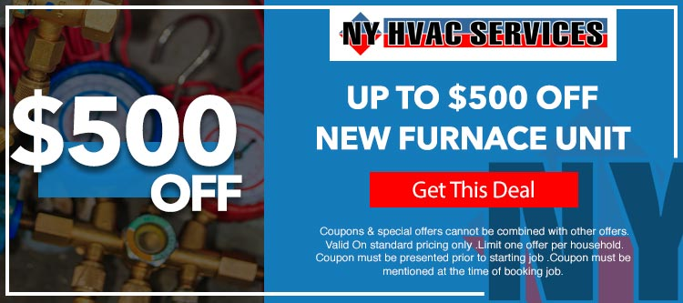 discount on new furnace units in Brooklyn, NY